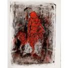 Crépuscule du mal, Marcel Hasquin -I- lithographie